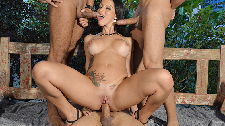 Gang Bang com Elisa Sanches